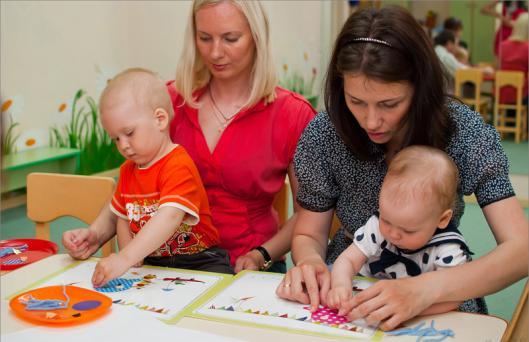 игры на знакомство для детей с мамами
